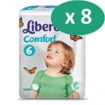 8 paquets de Libero Comfort 6