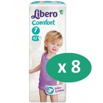 8 paquets de Libero Comfort 7