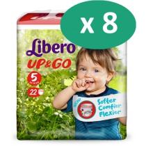 8 paquets de Libero Up&go 5