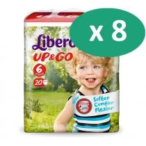 8 paquets de Libero Up&go 6
