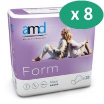 8 paquets de AMD Form Maxi