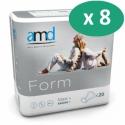 AMD Form Maxi+ - 8 paquets de 20 protections