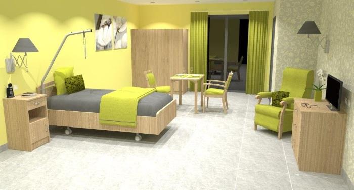 lit box m dicalis sur roues avec barri res et potence disponible sur. Black Bedroom Furniture Sets. Home Design Ideas