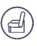 ceinture maintien sécurité fauteuil