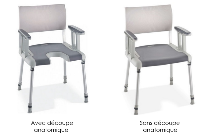 chaise de douche modulaire sorrento aquatec invacare disponible sur. Black Bedroom Furniture Sets. Home Design Ideas