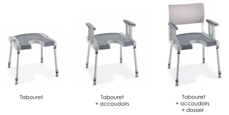 tabouret de douche modulaire invacare sorento chaise de douche aquatec seniors  senup