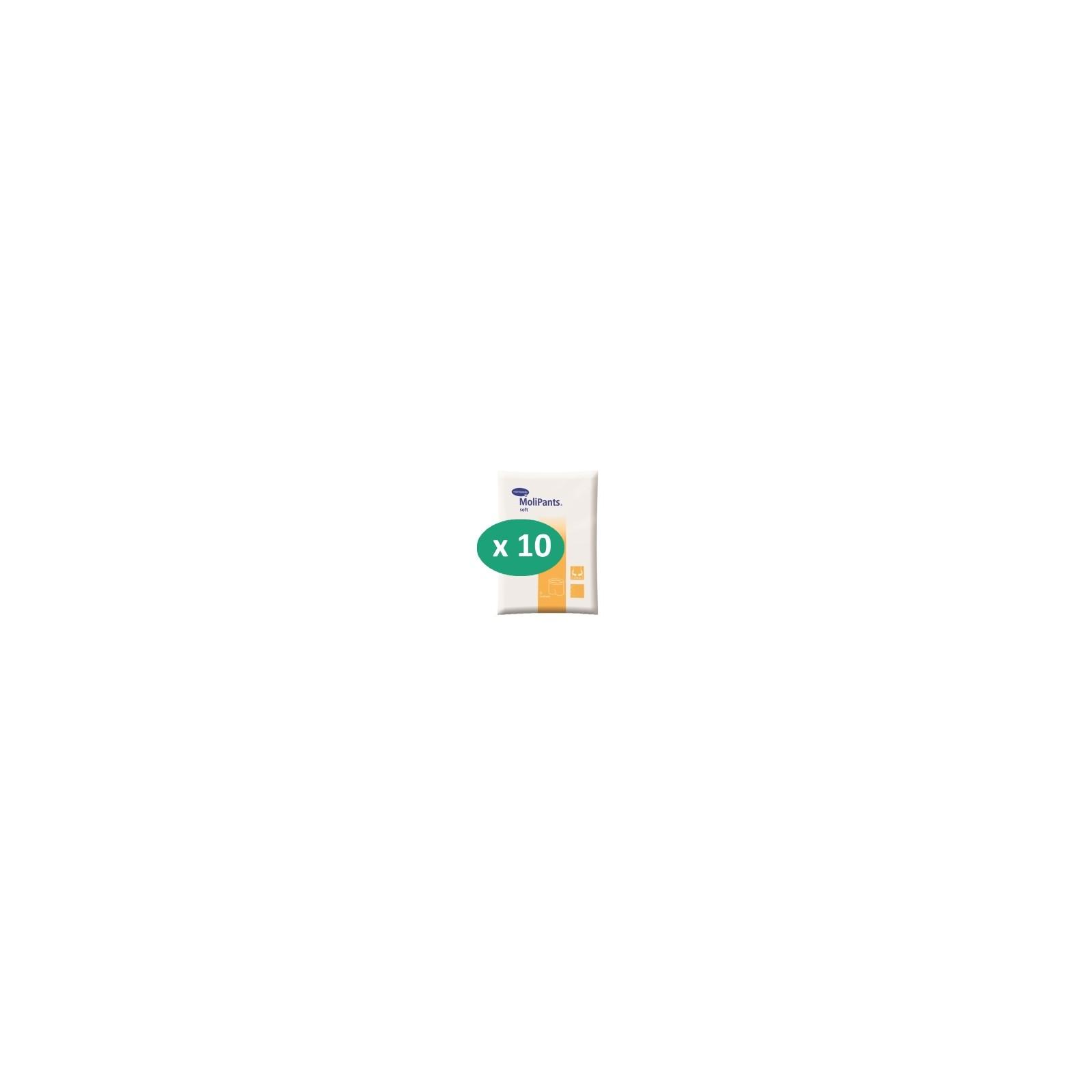 10 paquets de Hartmann MoliPants Soft| SenUp.com