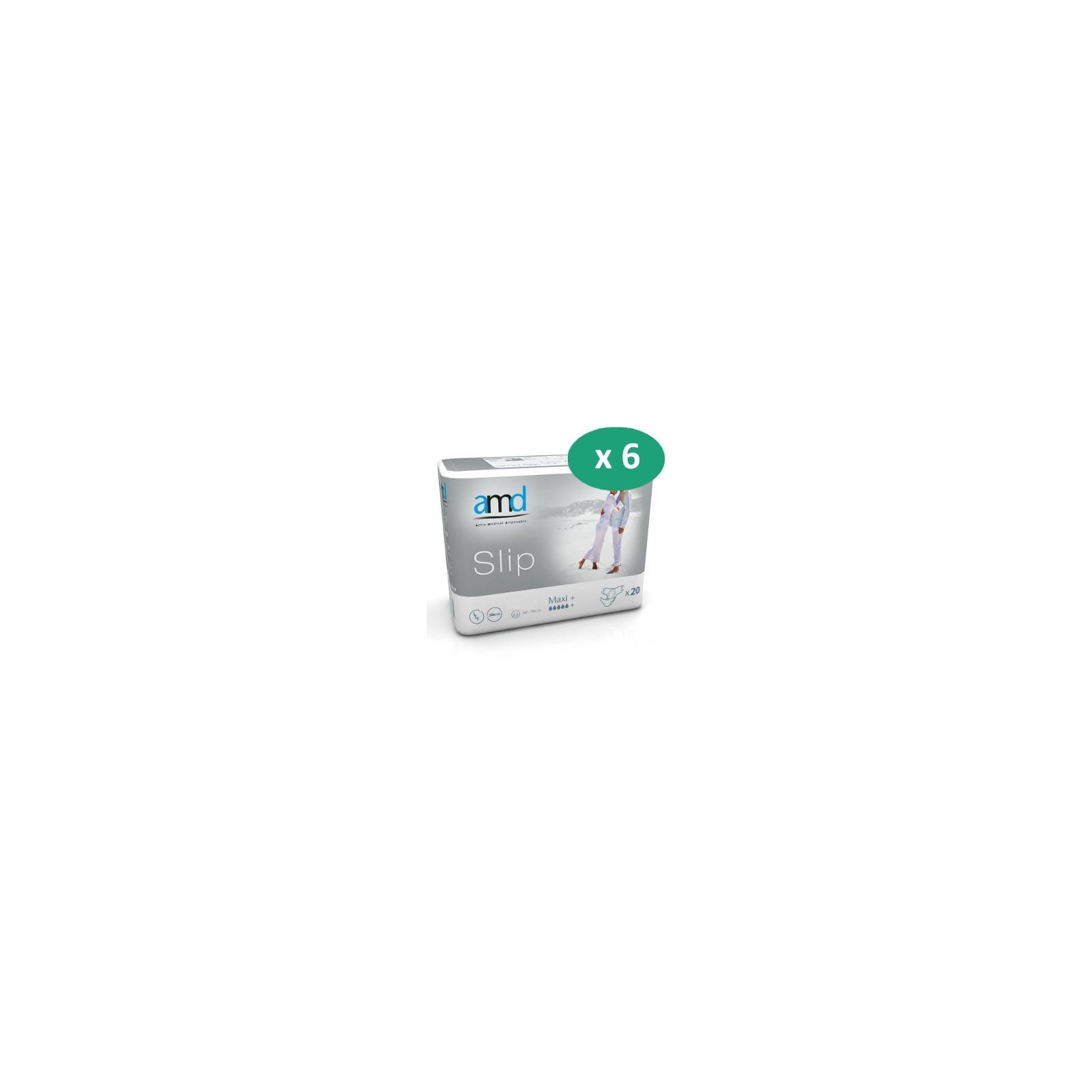 6 paquets de AMD Slip Maxi+| SenUp.com