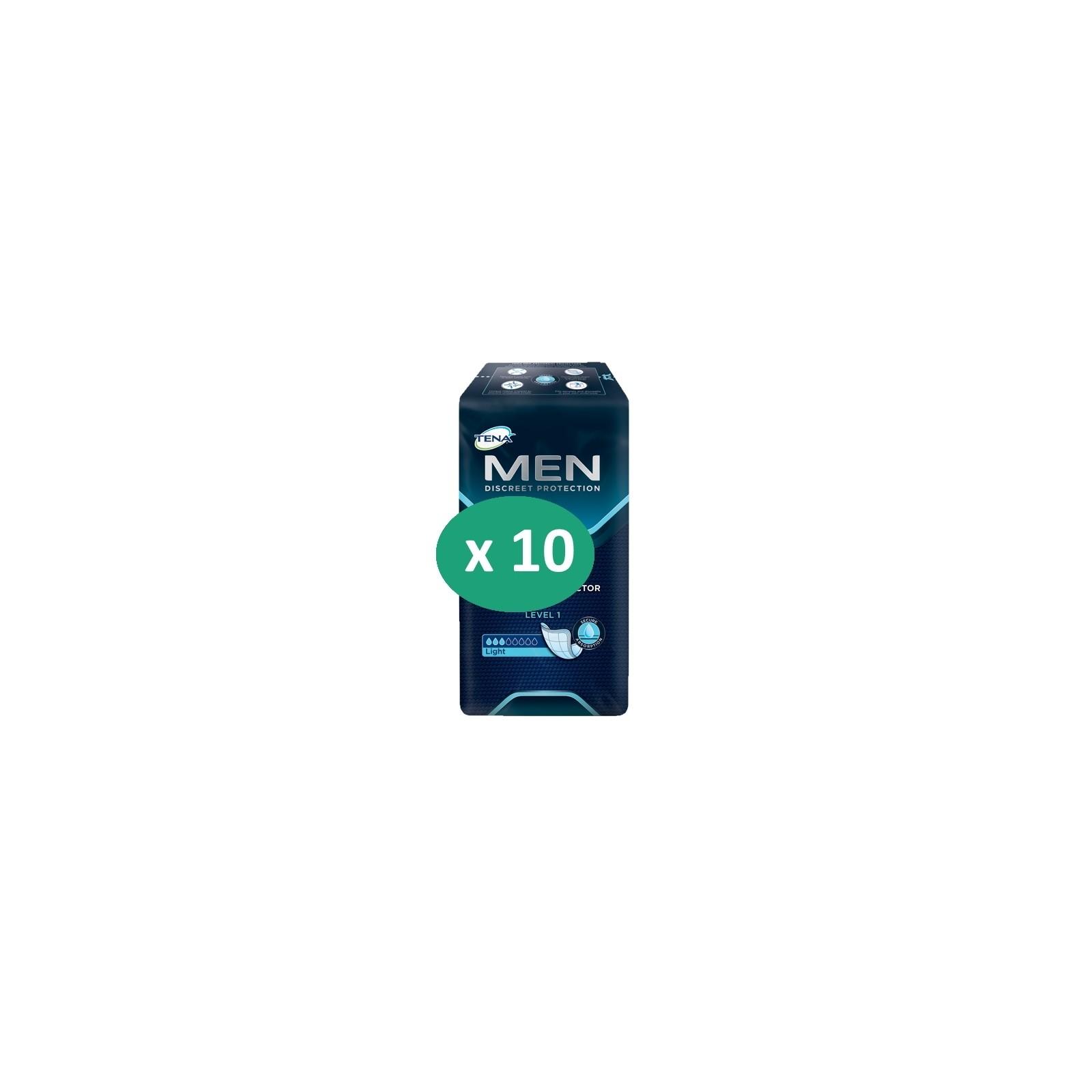 10 paquets de Tena Men Level 1| SenUp.com
