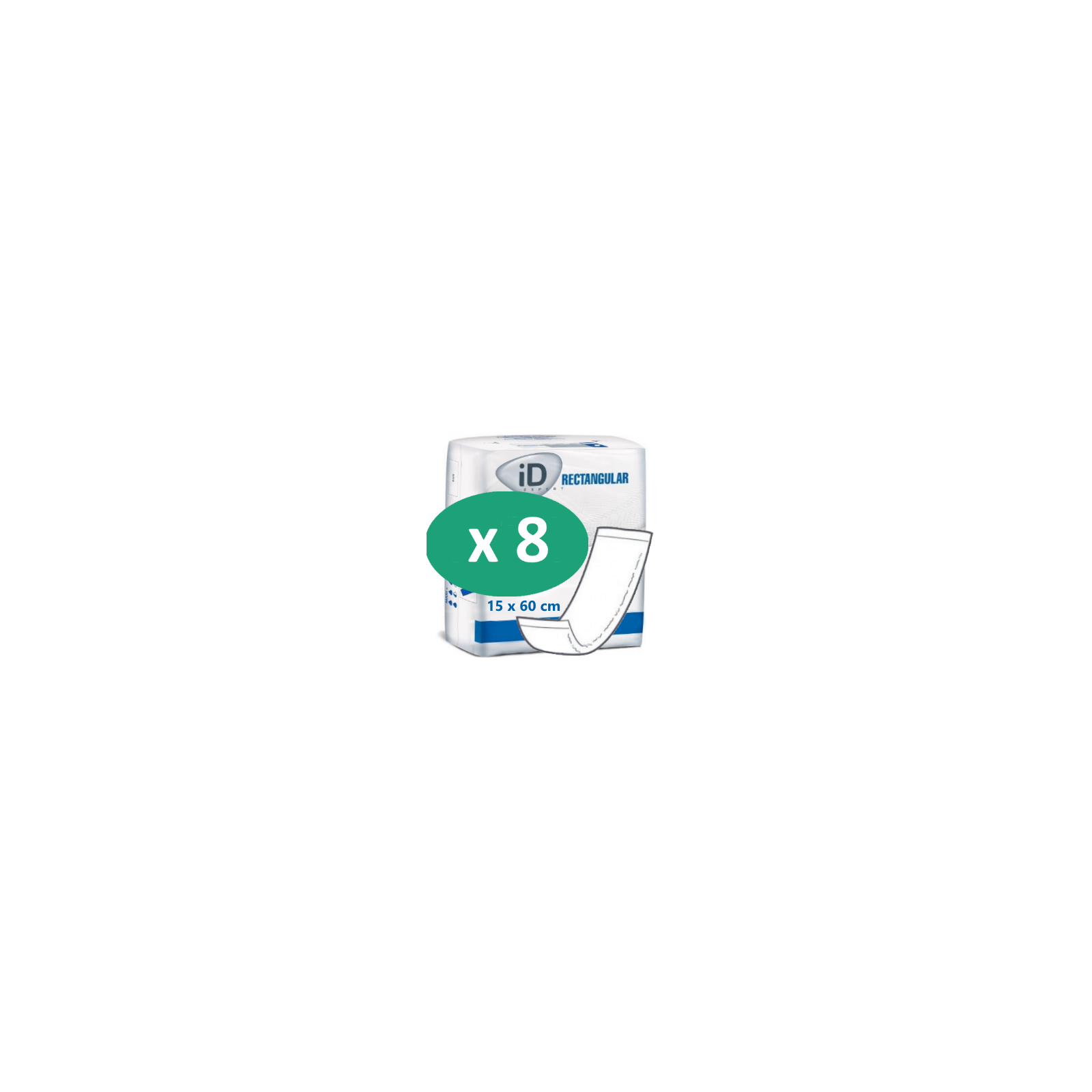 ID Expert Rectangular Intraversable PE 15 x 60 cm| SenUp.com