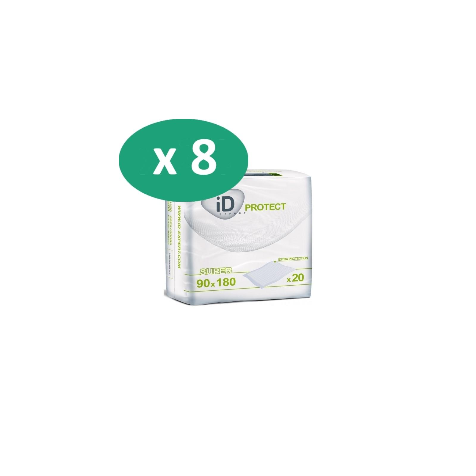 8 paquets de ID Expert Protect Super 180 x 90 cm| SenUp.com